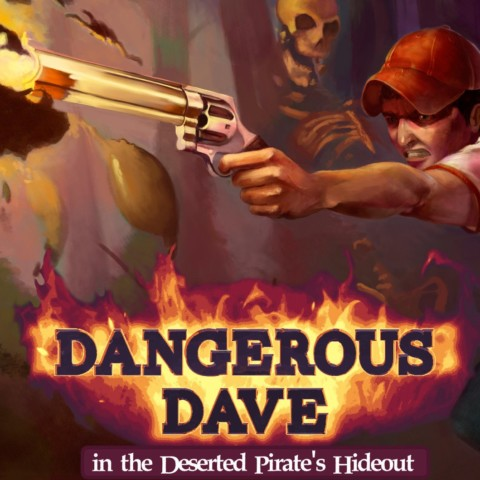Dangerous Dave in the Deserted Pirate's Hideout [Romero Games]